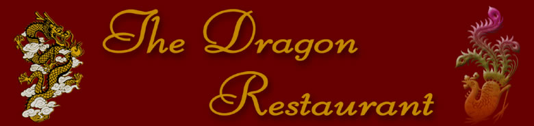 The Dragon Restaurant title.